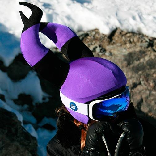 Funda casco Bruja Malvada ski-1
