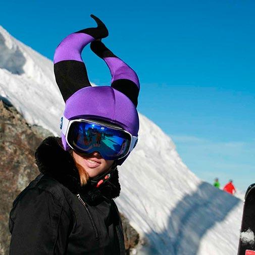 Funda casco Bruja Malvada ski-2