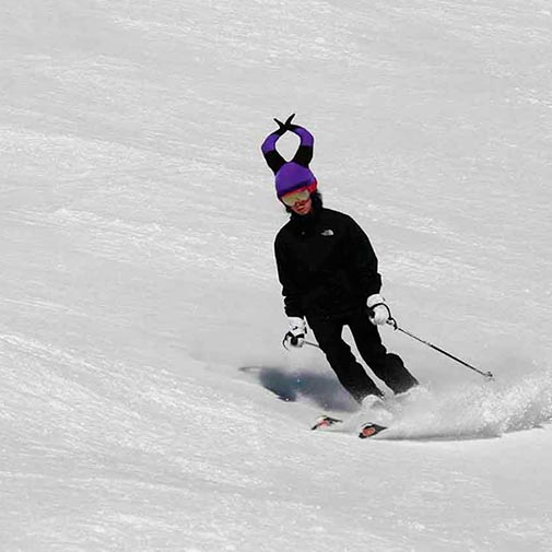 Funda casco Bruja Malvada ski