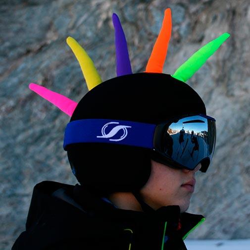 Funda casco Cresta gafas