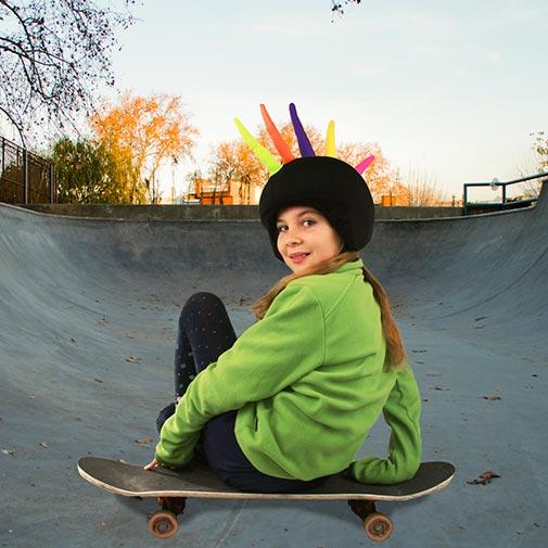 Funda casco Cresta skate