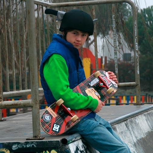 Funda casco Cuchillo Skate