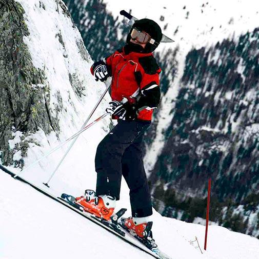 Funda casco Cuchillo ski