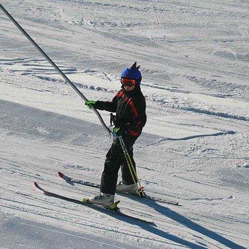 Funda casco Dragón Blaugrana Ski-1