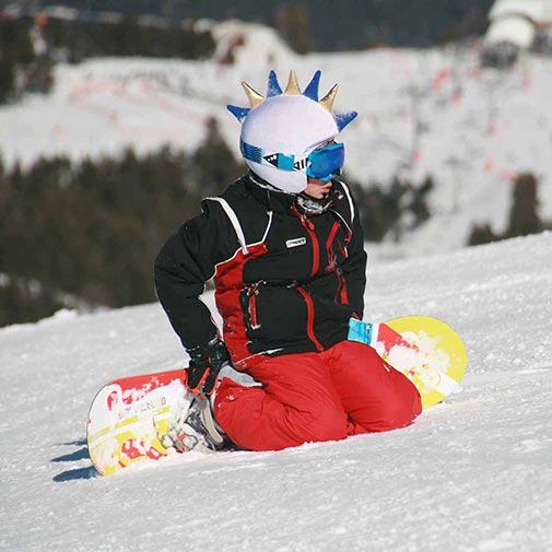 Funda casco Dragón merengue Snowboard
