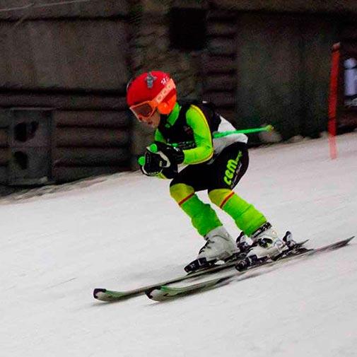 Funda casco Flecha ski descenso