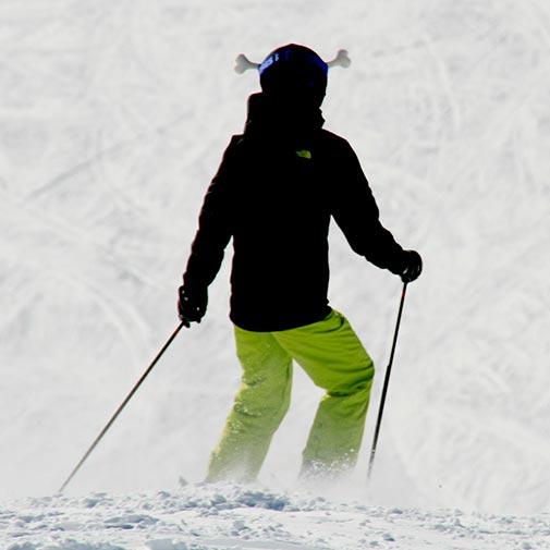 Funda casco Hueso ski
