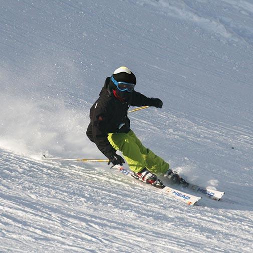 Funda casco Huevo esquiando
