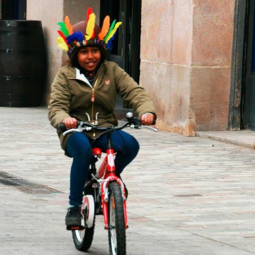 Funda casco Indio Bike