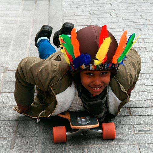 Funda casco Indio Skate