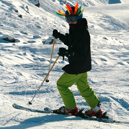 Funda casco Indio Ski