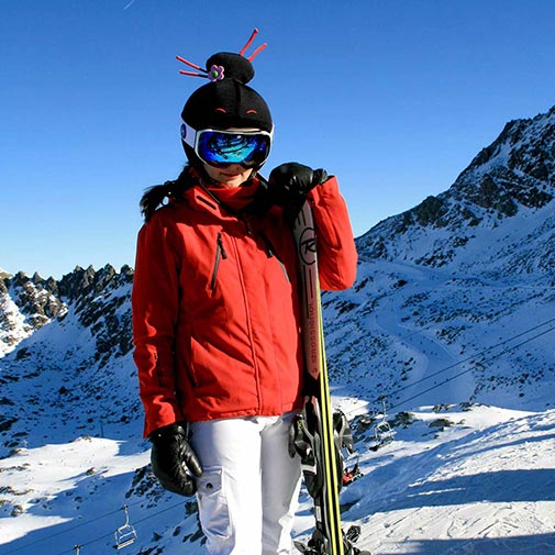 Funda casco Kokeshi ski 1