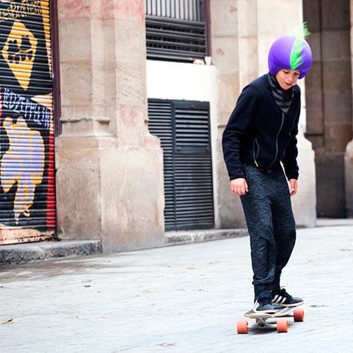 Funda casco Mohicana verde skate