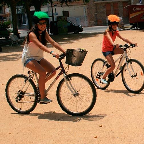 Funda casco Pelos verde Bike