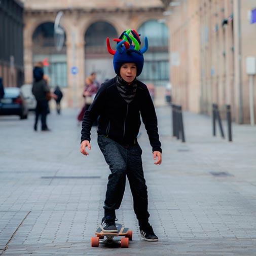 Funda casco Randy Skate