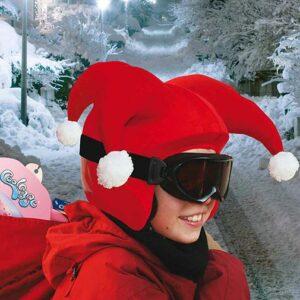 Funda casco Santa Clauss ski