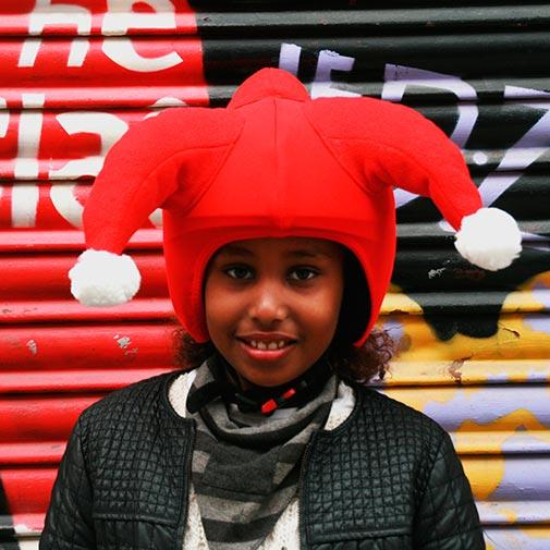 Funda casco Santa Clauss