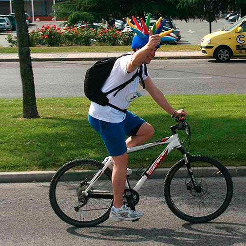 Funda casco Spike Bike