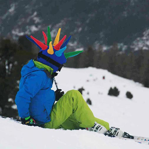 Funda casco Spike Ski nieve