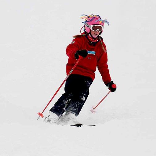 Funda casco Extensiones niña ski descenso