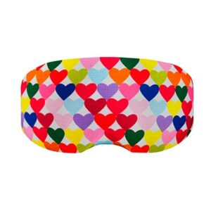 Goggle cover Colour Hearts