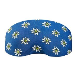Goggle cover Edelweiss.