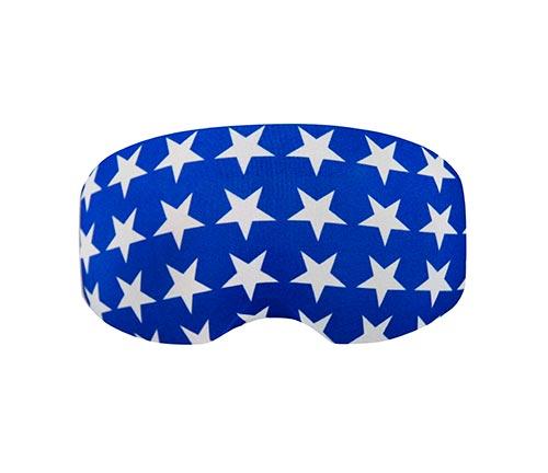 Goggle cover Blue Stars