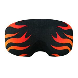 Goggle cover Flames