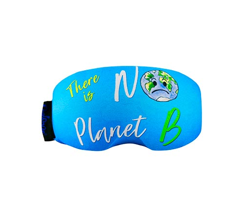 Goggle cover No Planet B