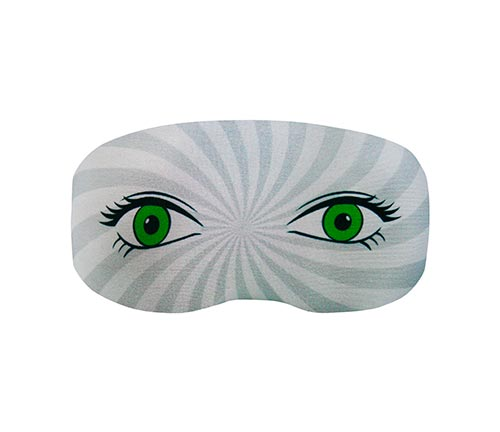 Goggle cover Green eyes