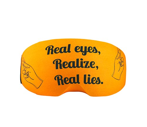 Goggle cover Real Eyes