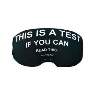 Funda para gafas this is a test