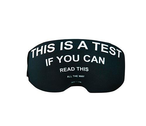 Funda para gafas this is a test
